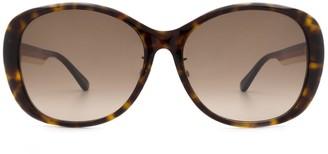 Gucci Gg0849sk Havana Sunglasses