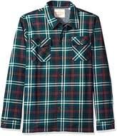 Weatherproof Vintage Men's Fleece Back Shirt Jacket