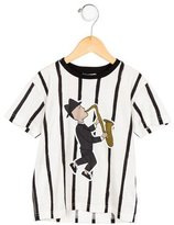 Dolce & Gabbana Boys' 2017 Printed T-Shirt w/ Tags