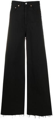 MM6 MAISON MARGIELA Side Stripe Wide-Leg Jeans