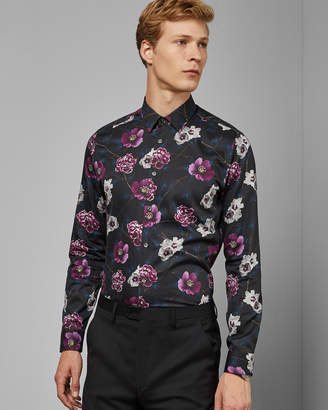 Ted Baker MANICOT Floral cotton shirt