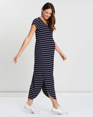 Angel Maternity Casual Maxi Dress