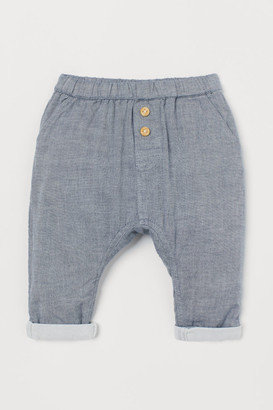 H&M Cotton trousers