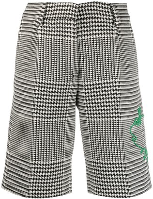 Off-White Prince Of Wales Pattern Shorts
