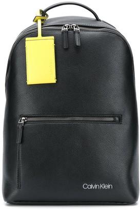 Calvin Klein Logo Tag Backpack