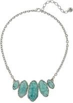 "The Sak Irregular Stone Collar Necklace 16"""