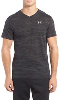 Under Armour Men's 'Streaker Run' Microthread V-Neck T-Shirt
