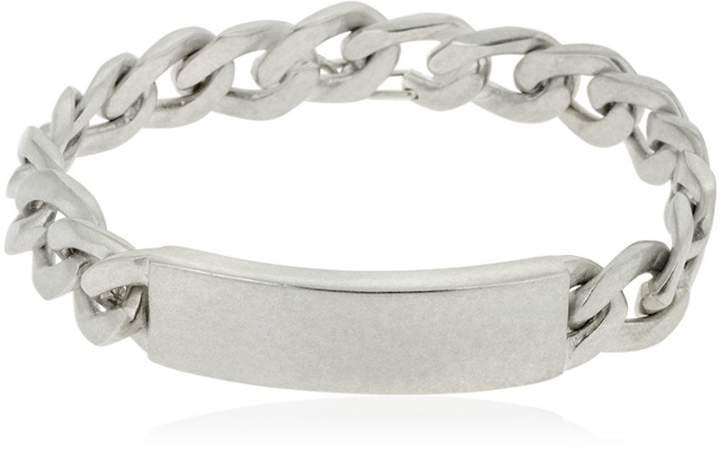 Maison Margiela Silver Chain Id Bracelet