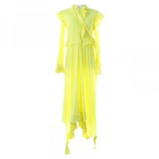 Vetements Yellow Cotton Dresses