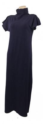 Issey Miyake Blue Cotton Dresses