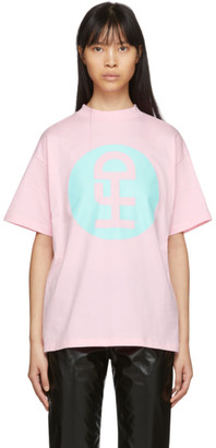 Honey Fucking Dijon Pink Large Logo T-Shirt