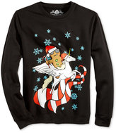 American Rag Men's Gingerbread Man and Unicorn Sweatshirt, Only at Macy's