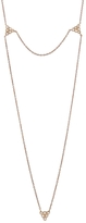 Yannis Sergakis Adornments Charnières Diamond Chain Necklace - Rose Gold