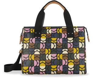 Orla Kiely Watson Messenger Bag, Dark Multi