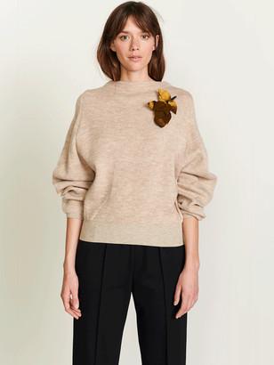 Bellerose Abil Knit In Natural - 8