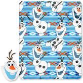 """Disney Frozen """"Big Face Olaf"""" Pillow & Throw Set"""