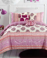 Idea Nuova Ideanuova CLOSEOUT! Skylar Pom Pom 4-Pc. Twin/Twin XL Comforter Set
