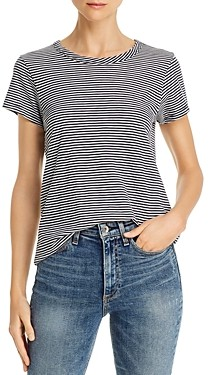Rag & Bone Striped Crewneck Tee