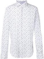 Glanshirt flower print shirt - men - Cotton/Linen/Flax - 41