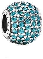 Pandora Teal Pave Lights Charm in 925 Sterling Silver, 791051MCZ