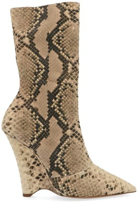 Yeezy Animalier Wedge Ankle Boots
