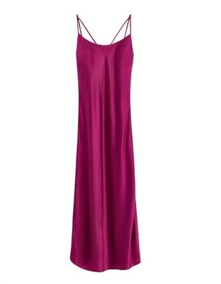 Cuyana Charmeuse Slip Dress