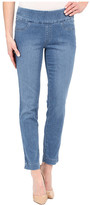 "Miraclebody Jeans Andie 28"" Ankle Pull-On Jeans in Tabago Blue"