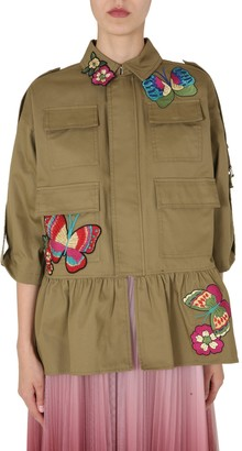 RED Valentino Embroidered Caban