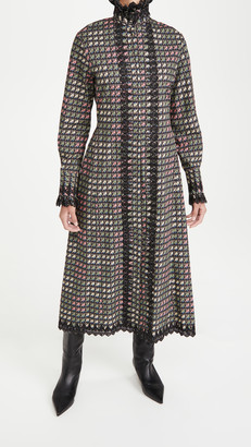 Paco Rabanne Patterned Dress