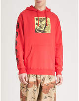 Obey x Misfits Cover cotton-blend hoody