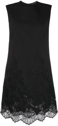 Ermanno Scervino Lace Detail Shift Dress