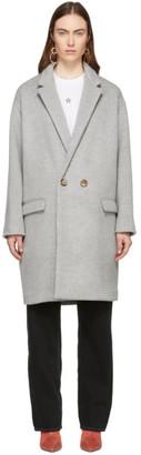 Isabel Marant Grey Filipo Long Coat