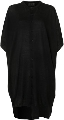Y's Asymmetric Buttoned Dress