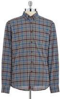 Strellson Plaid Button-Down Shirt