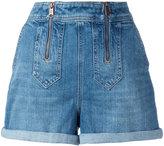 Tommy Hilfiger denim shorts - women - Cotton/Spandex/Elastane - L