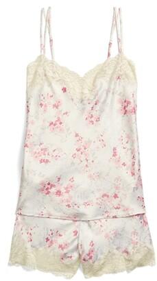 Lauren Ralph Lauren Ralph Lauren Floral Satin Camisole Pajama Set