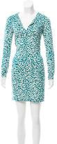 Diane von Furstenberg Printed Shift Dress w/ Tags