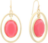 Liz Claiborne Pink Drop Earrings
