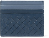 Bottega Veneta Two-Tone Intrecciato Leather Cardholder
