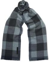 Ermenegildo Zegna - Checked Wool Scarf