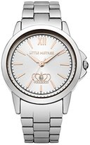 Little Mistress Women's Quartz Watch with Silver Dial Analogue Display and Silver Bracelet LM016