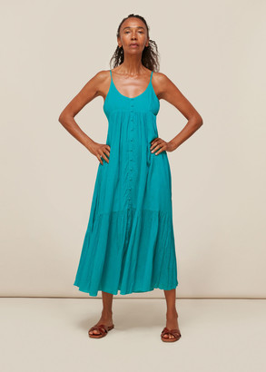 Trapeze Cotton Voile Dress