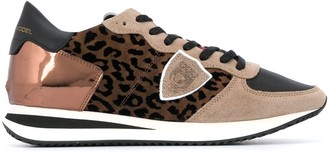 Philippe Model Paris Tropez leopard-print sneakers