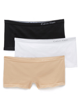 Calvin Klein Underwear Pure Seamless 3 Pack Boy Shorts