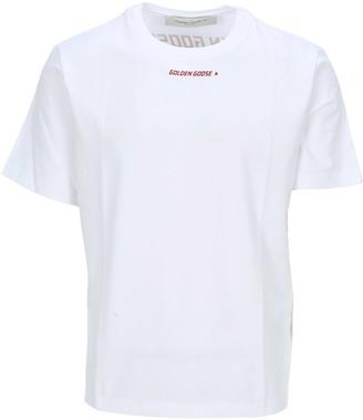 Golden Goose Red Flag Print T-shirt