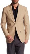 Perry Ellis Notch Collar Stretch Slim Fit Blazer