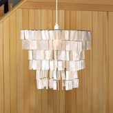 Rectangle Hanging Capiz Pendant