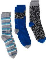 Diesel 'Skm-Ray' three pack socks