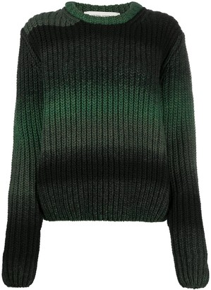 Golden Goose Horizontal-Stripe Ribbed Jumper