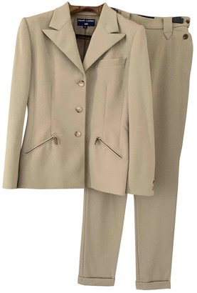 Polo Ralph Lauren Beige Wool Jacket for Women